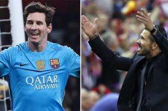 """Messi y el """"Cholo"""" Simeone se enfrentarán en los cuartos de la Champions League"""