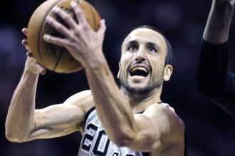 NBA: Buen tarea de Ginóbili en la victoria de San Antonio frente a Memphis