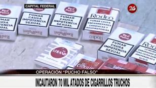 """Operativo """"Pucho falso"""": secuestran 70 mil atados truchos"""