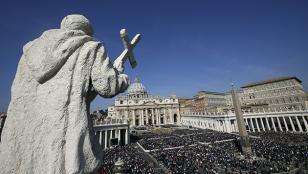 """Pascua: el Papa lamentó """"la ciega y brutal"""" violencia"""