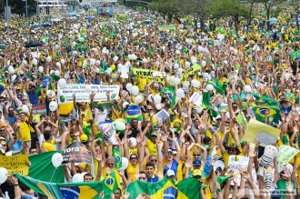 Protestas en varias ciudades de Brasil contra el nombramiento de Lula