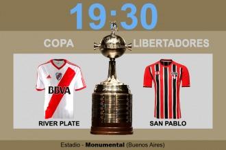 River buscará una victoria frente al San Pablo que lo acerque a la siguiente fase