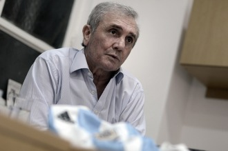 Roberto Perfumo se cayó de una escalera y está internado con pronóstico reservado