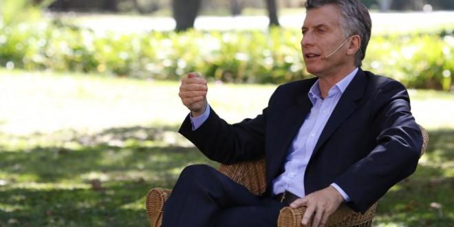 """Macri: """"Si la inflación no baja será responsabilidad de mi Gobierno"""""""