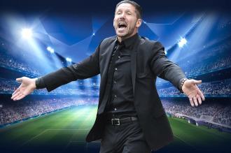 Simeone y el Kun van por el pase a cuartos de final de la Liga de Campeones