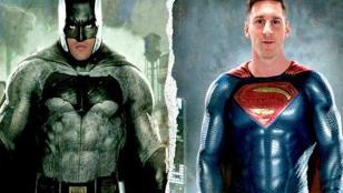 """""""Superman"""" Messi vs. """"Batman"""" Cristiano Ronaldo"""