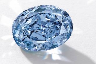 Un diamante azul será subastado por un precio base de U$S 35 millones