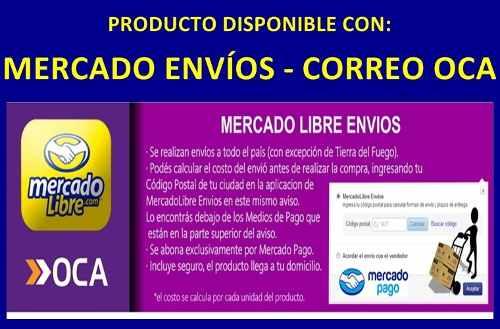 Precios y costos de enviar una encomienda por mercadoenvios y Correo Argentino