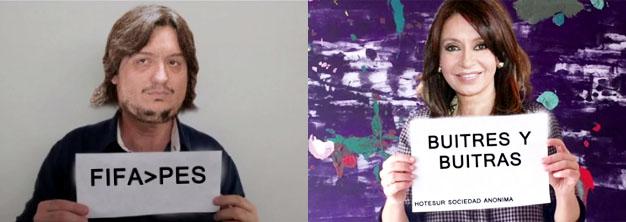"""#humor """"Seamos buitres"""": el video que los artistas K no quieren que veas"""