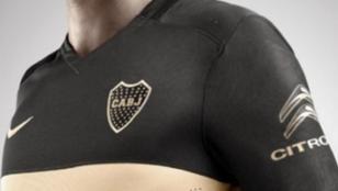 La nueva camiseta de Boca es negra