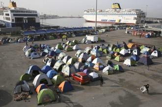 La ONU alerta sobre la situación en los centros de refugiados en Grecia