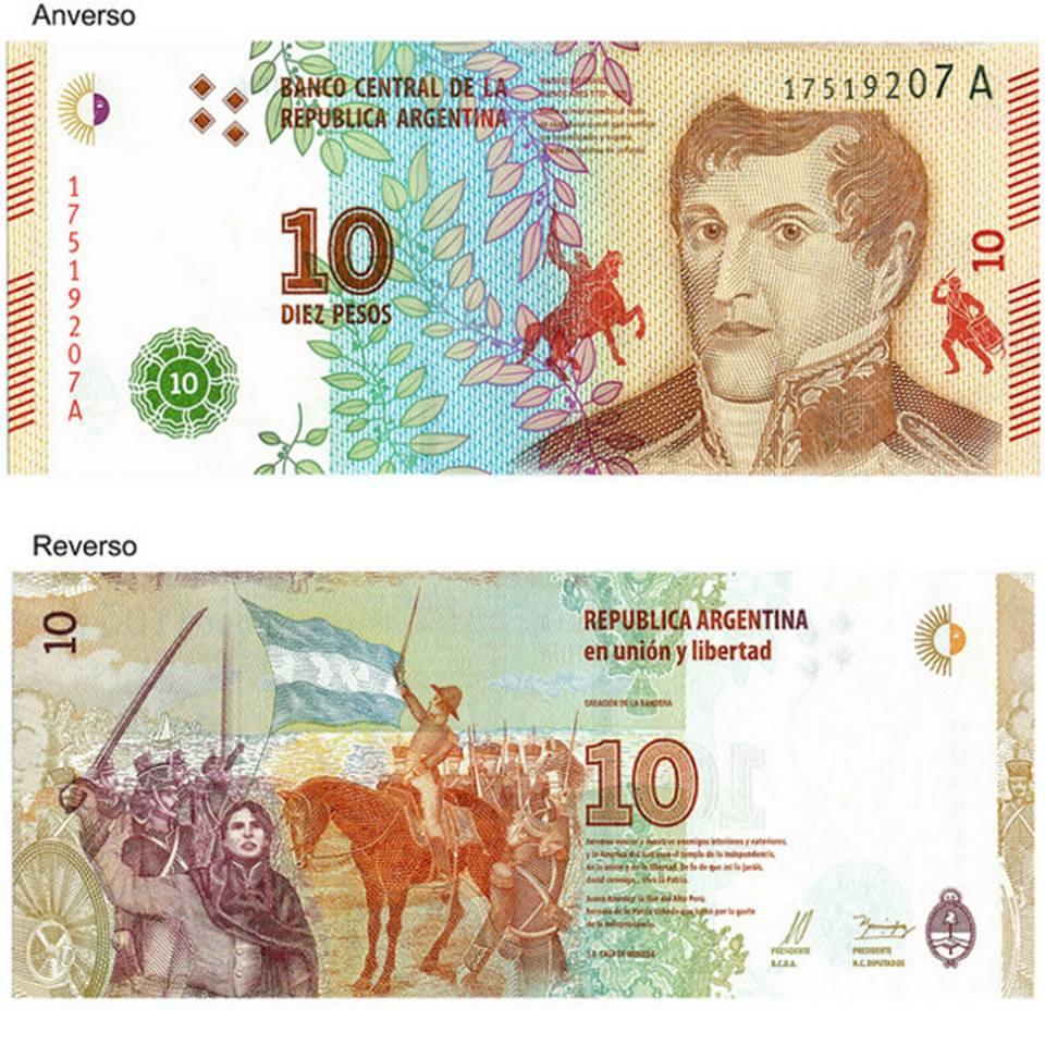 ASÍ ES EL NUEVO BILLETE DE $10