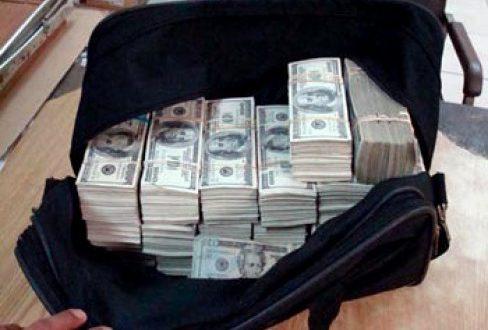 ¿Cuánto pesa 1 millón de dólares?