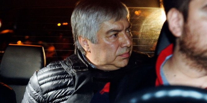Lázaro Báez fue detenido por orden del juez Sebastián Casanello