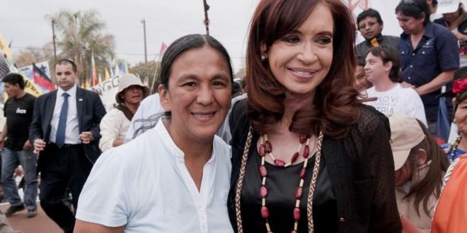 La Milagro Sala le escribió una carta a Cristina Kirchner