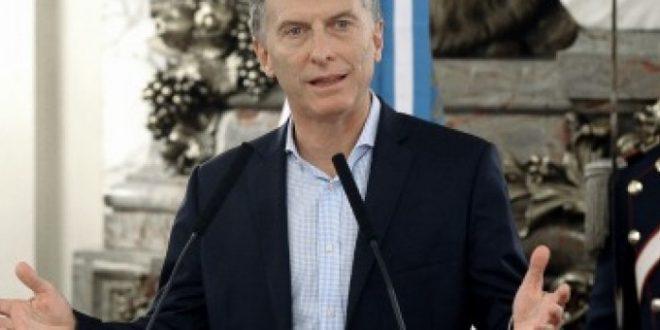 Macri anunciará un paquete de medidas sociales
