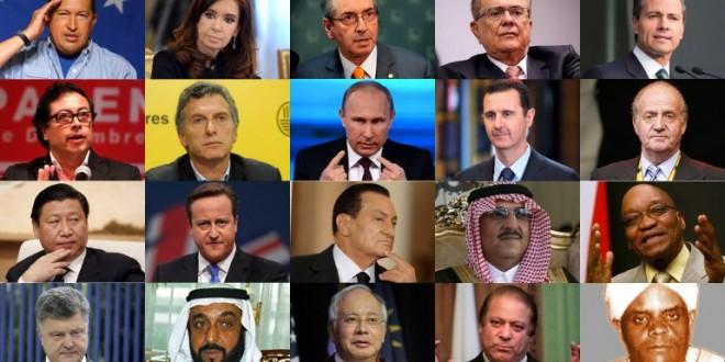 Quiénes son los líderes políticos que aparecen en los Panamá Papers