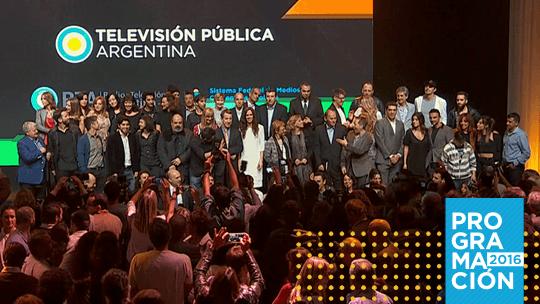 Video: Programación 2016 de la Televisión Pública Argentina