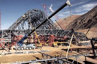 Una comisión enviada por el juez Casanello inspeccionará mañana la mina Veladero