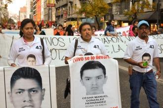 Nueva línea de investigación en la desaparición de los 43 estudiantes en México
