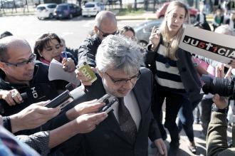 Schiavi declara ante el juez Ercolini en la causa por la que está preso Jaime