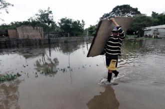 Son 3 mil las personas afectadas por las lluvias en el norte entrerriano