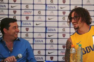 """Angelici: """"La continuidad o no de Osvaldo la vamos a decidir el lunes"""""""