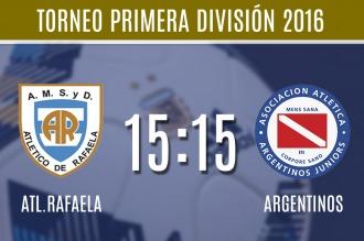 Argentinos se juega su última chance ante Rafaela