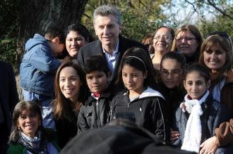 Con mensaje por la igualdad, Macri lanzó el Plan Nacional de Internet