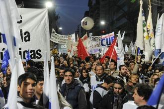 """Estudiantes y gremialistas destacaron la """"unidad del movimiento universitario"""""""