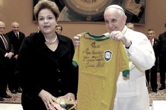 Francisco pidió diálogo en los momentos de dificultad que atraviesa Brasil