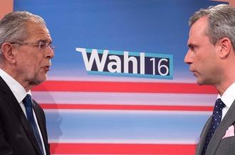 Hofer y Van der Bellen, a la espera de los resultados finales, con empate técnico