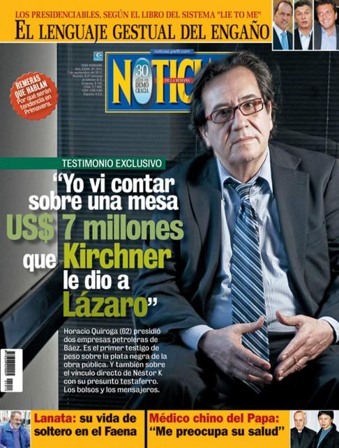 Encontraron muerto a quien señaló a Lázaro Báez como testaferro de Néstor Kirchner