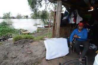 Los ríos Paraná y Salado siguen bajando en Santa Fe y hay más de 1.800 evacuados