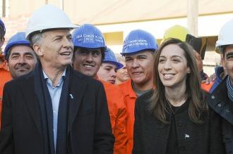 Macri encabeza un acto en Morón y almuerza con Mirtha Legrand en la Casa Rosada