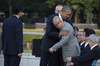 Obama visitó Hiroshima y recordó a las víctimas de la bomba atómica