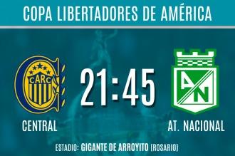 Rosario Central quiere dar el primer golpe frente al mejor equipo de la Copa
