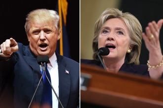 Trump y Hillary Clinton quedaron a un paso de su nominación presidencial
