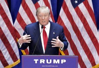Una nueva encuesta ubica a Trump por delante de Hillary Clinton en las presidenciales
