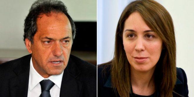 """María Eugenia Vidal sobre Scioli: """"No representa una buena etapa para la provincia de Buenos Aires"""""""