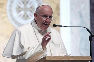 """El Papa aseguró que """"las tasas de desocupación juvenil son un escándalo"""""""