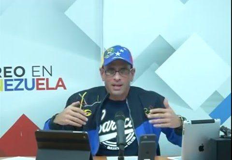 """Capriles: """"Venezuela puede estallar en cualquier momento"""""""