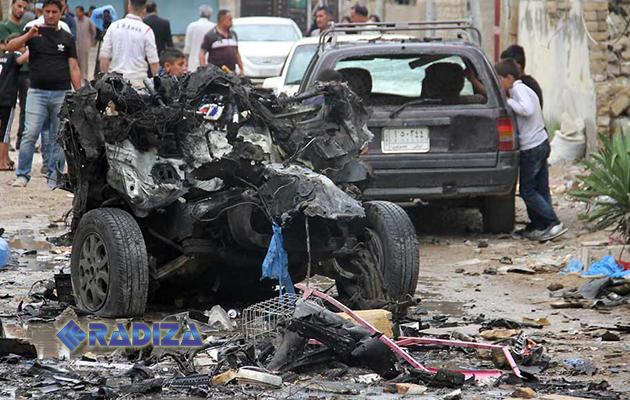 Decenas de muertos y heridos en una serie de atentados del EI en Bagdad