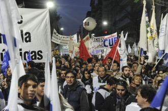 """La FUBA espera una reacción del Gobierno tras la """"masiva"""" manifestación"""