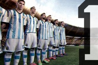 La selección argentina continúa en el primer lugar del ranking de la FIFA