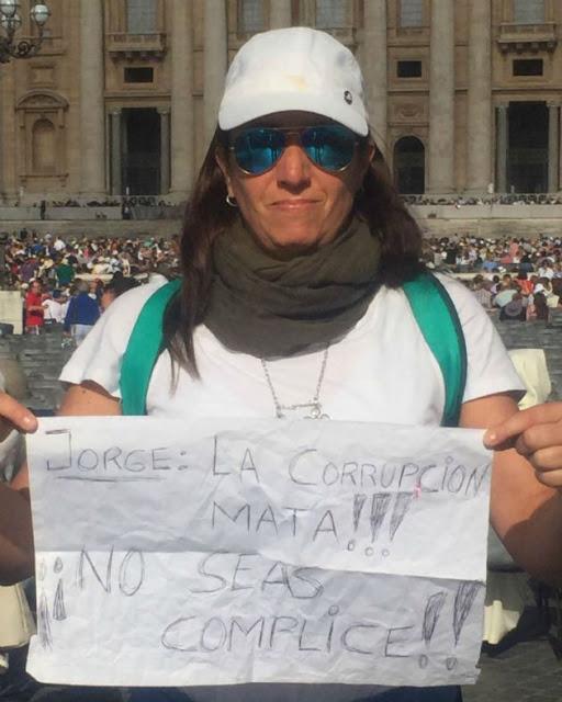 Argentina enojada con el Papa en el Vaticano