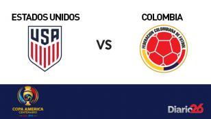 Copa América Centenario: Colombia venció a EE.UU.