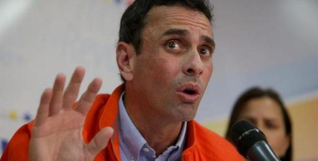 """Capriles : """"El revocatorio será este año y punto"""""""