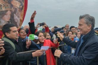 """Macri pidió """"erradicar la corrupción"""" en el cierre del Congreso Eucarístico"""