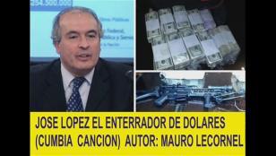 """La cumbia de José López, """"El enterrador de dólares"""""""